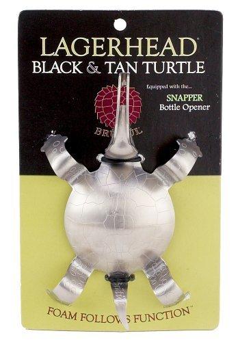 Harold Import CO 1011HIC Lagerhead schwarz und Tan Schildkröte