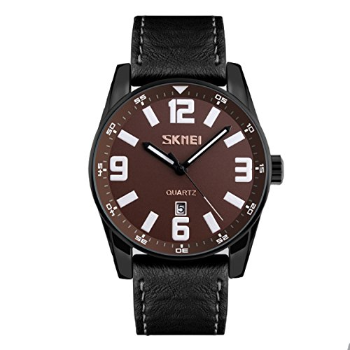 Skmei 9137BROWN Sports Analog Watch For Unisex