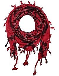 94e360ff71c7 FREAK SCENE® Foulard palestinien keffieh en coton - motifs pentagramme - 100  x 100 cm - Large palette de…