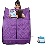 #6: TNC MADE IN INDIA PORTABLE THERAPEUTIC STEAM AND HOME SAUNA BATH FOR WEIGHT LOSS AND FOLDING OUTDOOR FISHING CAMPING CHAIR COMBO