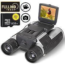Binocular Cámara Digital Prismáticos Cámara Pantalla LCD HD 2