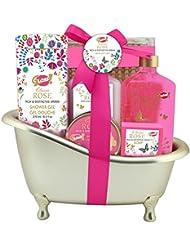 Corbeille Baignoire de bain Classic rose Gloss!