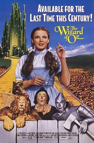 The Wizard of Oz Affiche du film Poster Movie Le sorcier d