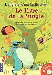 L'anglais, c'est facile avec le Livre de la Jungle (+1CD) (filmé)