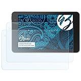 Bruni Schutzfolie für Dell Venue 8 Pro 5000 Folie, glasklare Bildschirmschutzfolie (2X)