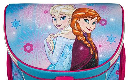 Undercover FRZH7293 Kindergartentasche, Disney Frozen, ca. 21 x 22 x 8 cm Schulranzen Set Campus Up, 6 teilig