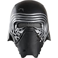 Mascara oficial de Rubie's de Kylo Ren de Star Wars, escala 1:2, talla única, color negro
