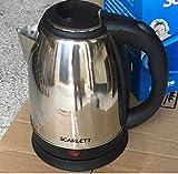 Scarlett Electric Kettle/Kettle/Tea Kettle/Tea and Coffee Maker/Milk Boiler/Water Boiler/Tea Boiler/Coffee Boiler/Water Heater/Kettle/1.8 Liter Stainless Steel