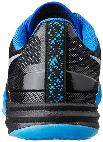 nike KB kobe mentalità scarpe ginnastica pallacanestro 704942 scarpe da tennis black metallic game royal photo blue 005