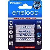 Sanyo eneloop AAA batterie micro 800mAh NiMH lot de 4, 4x 1,2V, NiMH