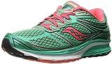 Saucony Guide 9W - Zapatillas de Running para Mujer, Color Teal/Coral, tamaño 38 EU