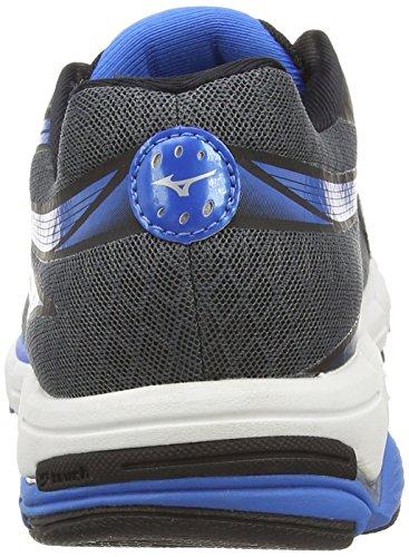 Mizuno Wave Connect 2, Chaussures de Running Entrainement Homme Gris (dark Shadow/silver)