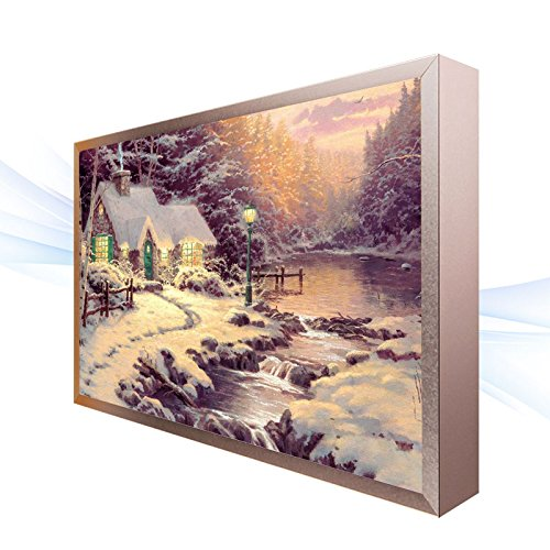 BESPD Design ultra-fin des peintures anciennes lampes Lumière du Corridor de l'allée, le salon la Chambre des lumières de chevet (B), 40*30cm