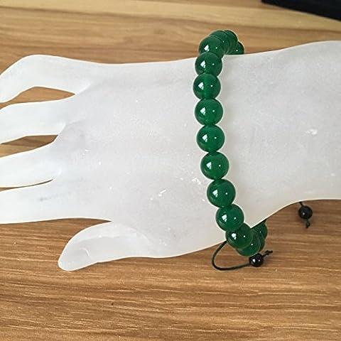 6mm perline braccialetto naturale agata rossa 8 mm green