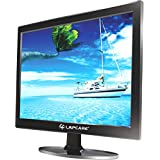"LAPCARE 15.4"" Slim 720p HD LED Backlit Computer Monitor (VGA + HDMI)"