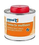 Unecol 3225 Adhesivo de contacto multiusos (bote con pincel) Beige 500 ml