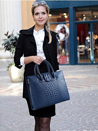 Doti Style ,  Damen Schultertaschen Blau