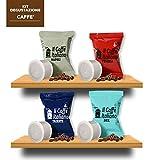100 capsule compatibili Uno System - 100 capsule kit degustazione caffè compatibili macchina caffè Uno System - Macchina caffè Uno System kit degustazione caffè 100 capsule compatibili - Il Caffè Italiano