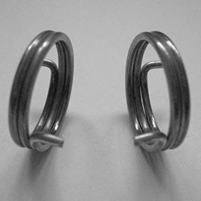6 Door Handle Springs, 1.65mm wire, 3 Handed Pairs (2 + 1/2 turn coil)