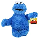 Figura Peluche di Sesame Street Ernie Bert Cookie Mostro Elmo 22 cm (briciole 21 cm)