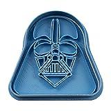 cuticuter Star Wars Darth Vader Ausstechform, Blau, 8x 7x 1.5cm