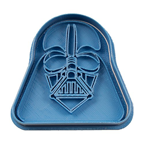 Cuticuter Star Wars Darth Vader Cortador de Galletas, Azul, 8x7x1.5 cm