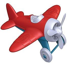 Greentoys- Aeroplano, Colore Rosso, AIRR-1026