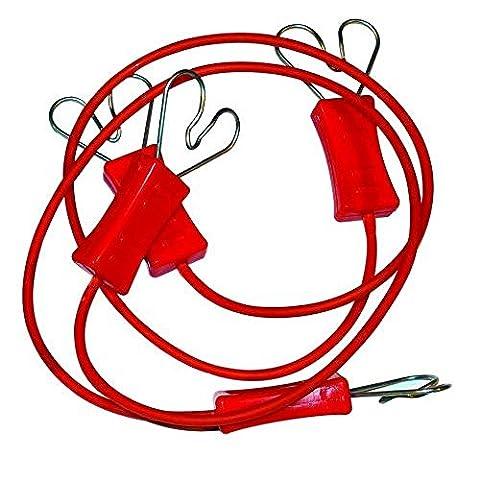 2 connecteurs de ruban avec attache