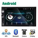 Android Coche Radio 2 DIN GPS CAMECHO 7 Pulgadas Pantalla táctil capacitiva Bluetooth WiFi USB SD...