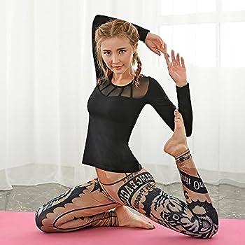 Jialele Yoga Pants Yoga Leggings Print Yoga Pants Yoga Pant_repair Height Pop Video Thin Stamp, The Tiger Series L 0