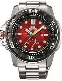 Orient # sel06001h Hombres del Acero Inoxidable M-Force Bestia Diver Potencia reserva automático reloj