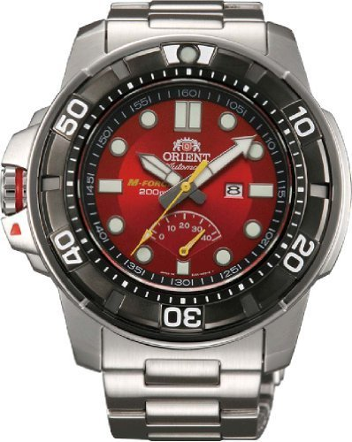 Orient #SEL06001H Men's Stainless Steel M-Force Beast Diver Power Reserve Automatic Watch