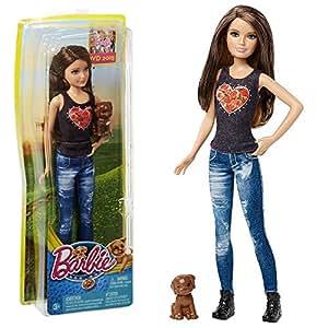 Barbie - Family Poupée Skipper avec le Chien - Les Grands Chiens Aventure