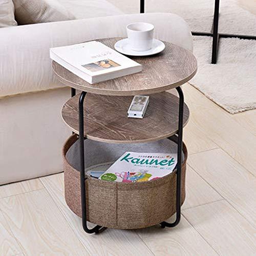 Vivrà divani lato del divano in ferro battuto armadietto piccolo tavolino semplice soggiorno telefono vari angolo tavolo piccolo (colore : D)