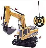 GAO Lega di Camion di Controllo remoto, Escavatore, Giocattolo per Bambini, può Essere Tagliato