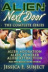 Alien Next Door: The Complete Series: Sci-Fi Alien Romance (English Edition)