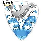 Picks 12 / Pack. Salto Dolphin Animal Character Cartoon Water Splash Guitar