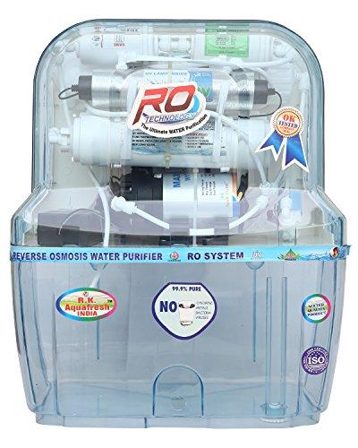 R.k. Aqua Fresh India AZ-14 Stage Transparent Storage Ro Uv Uf Minerals Ro Water Purifier