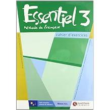 Essentiel méthode de français, niveau A-2, 3 ESO. Cahier d'exercices