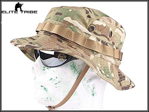 la gorra de caza sombrero de táctica boonie para pescar Multicam