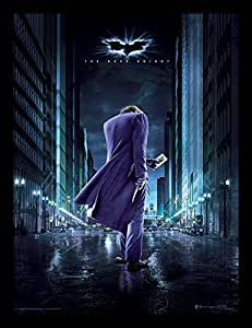 "DC Comics The Dark Knight 30 X 40 cm ""Joker City"" Framed Print"