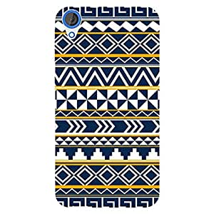 EYP Aztec Girly Tribal Back Cover Case for HTC Desire 820 Dual Sim