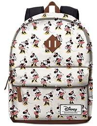 Karactermania Mochila Freetime Ivory classic Minnie Disney
