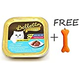 Goofy Tails Bellotta Tuna Light Meat In Jelly Cat Food (Pack Of 4, 80g) With Key Chain