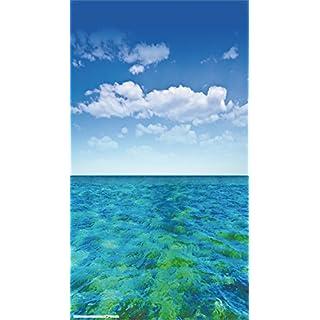 AG Design Insel, Gardine/Vorhang, (1 Teile:140x245 cm), Stoff Colorful 140 cm x 245 cm