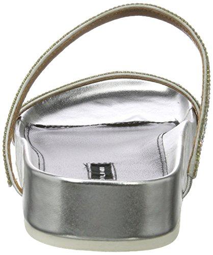 Belmondo 703445 02, Zoccoli Donna Argento (Silber (argento))