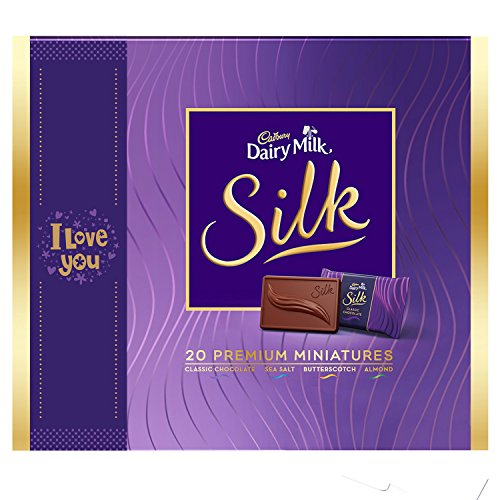 Cadbury Dairy Milk Silk Miniatures Collection, I Love You, 200g