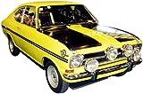 Schuco SCHU03511 - Véhicule Miniature - Opel Kadett B Coupé - Jaune et Noir - Echelle 1 / 43