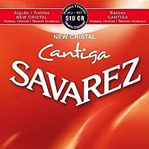 Savarez 656277 - Cuerdas para Guitarra Clásica New Cristal Cantiga juego 510CR Tensión normal