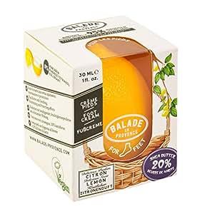 Crème Pieds Citron 30ml, Vegan
